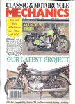 CLASSIC & MOTORCYCLE MECHANICS - MOTORCYCLE MAGAZINE - FEBRUARY 1992 - M1258